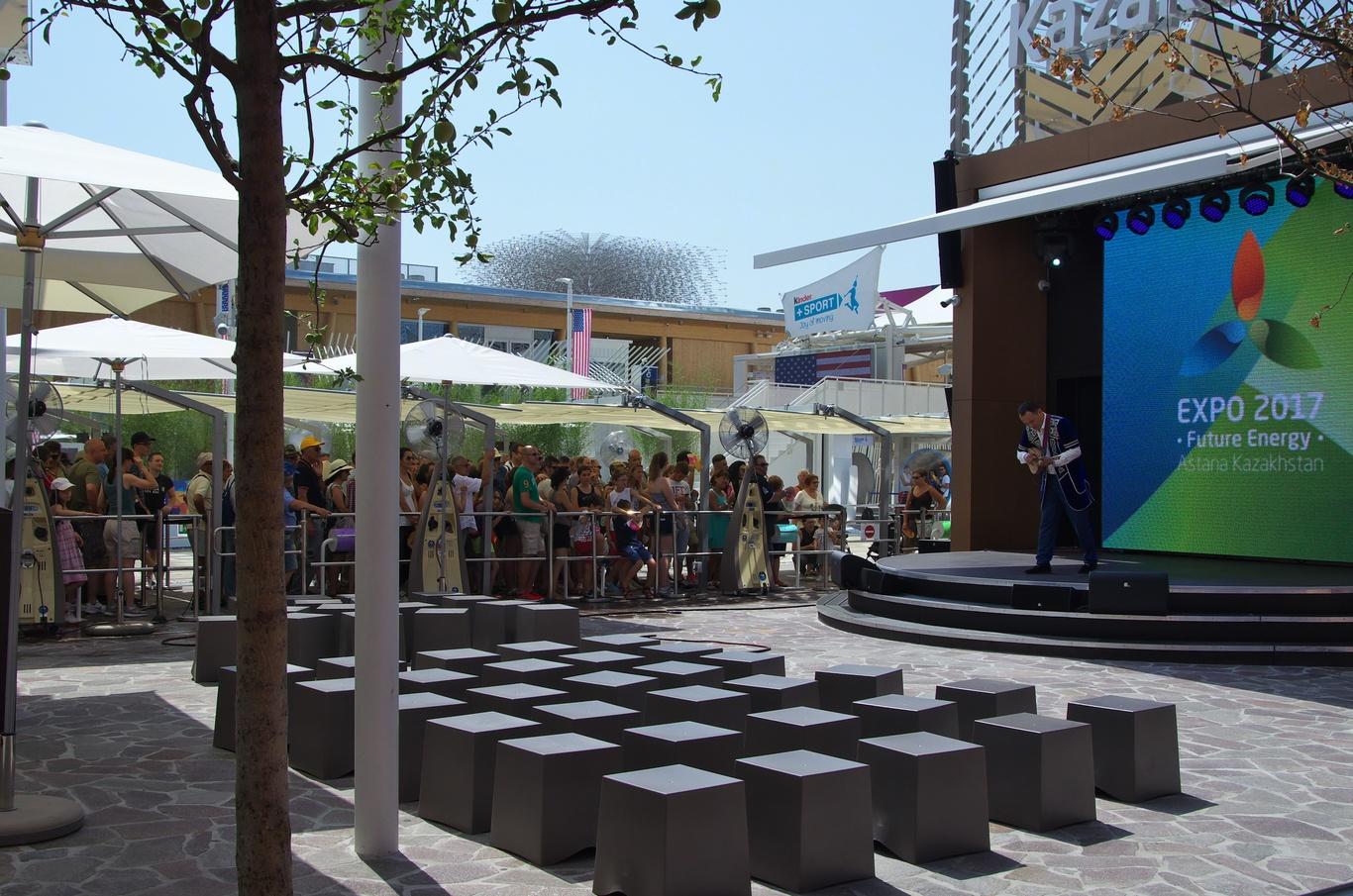 Pavilon Kazachstánu, EXPO 2015