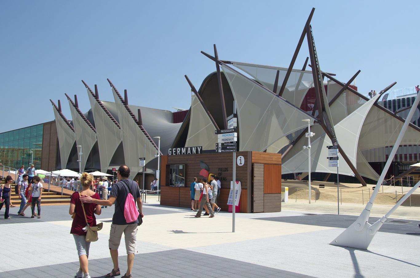 Pavilon Německa, EXPO 2015