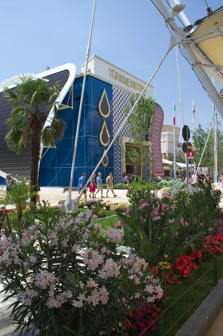 Pavilon Turkmenistánu, EXPO 2015