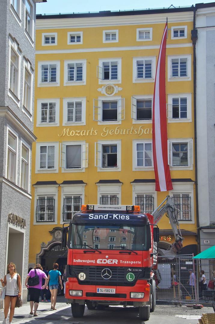 Rodný dům W. A. Mozarta, Salzburg