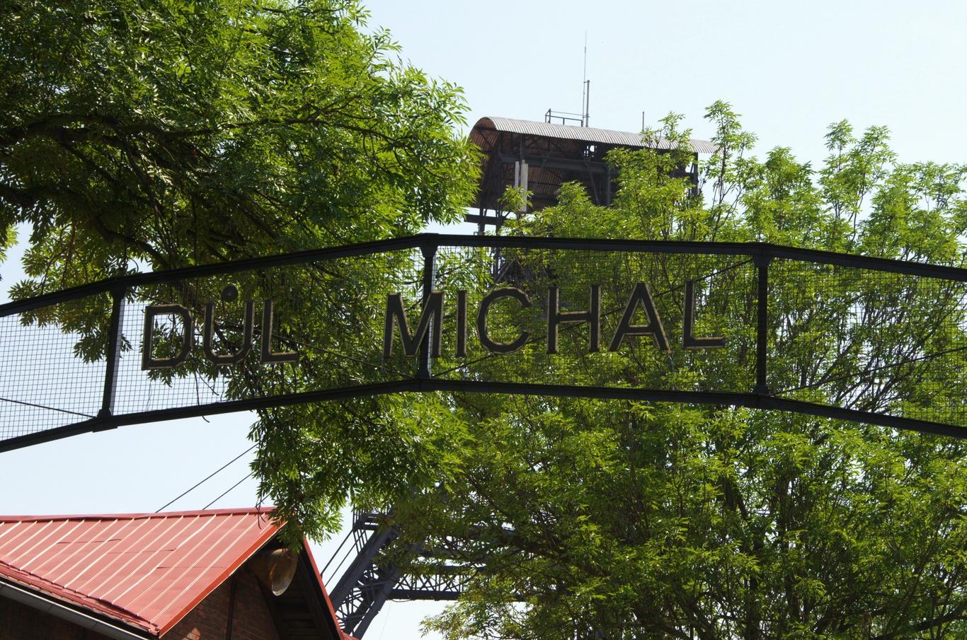 Důl Michal, vstup