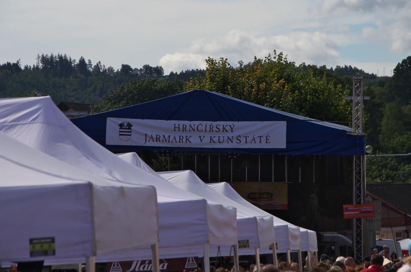 Hrnčířský jarmark v Kunštátu