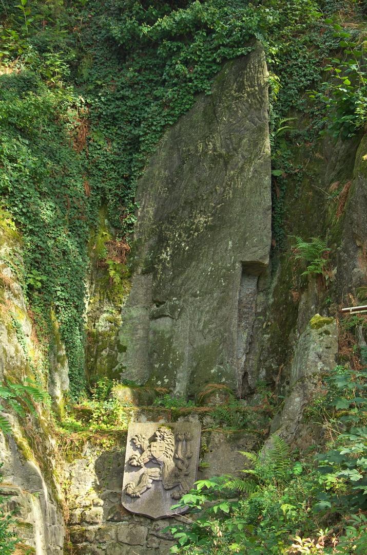 Torzo sochy T. G. Masaryka, Rudka