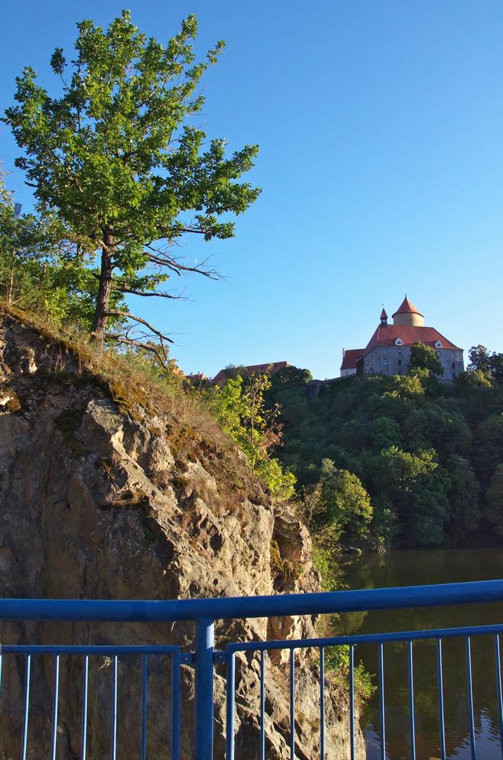 Lávka přes Brněnskou přehradu