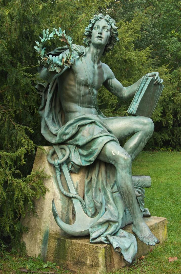 Alegorická socha Obchodu