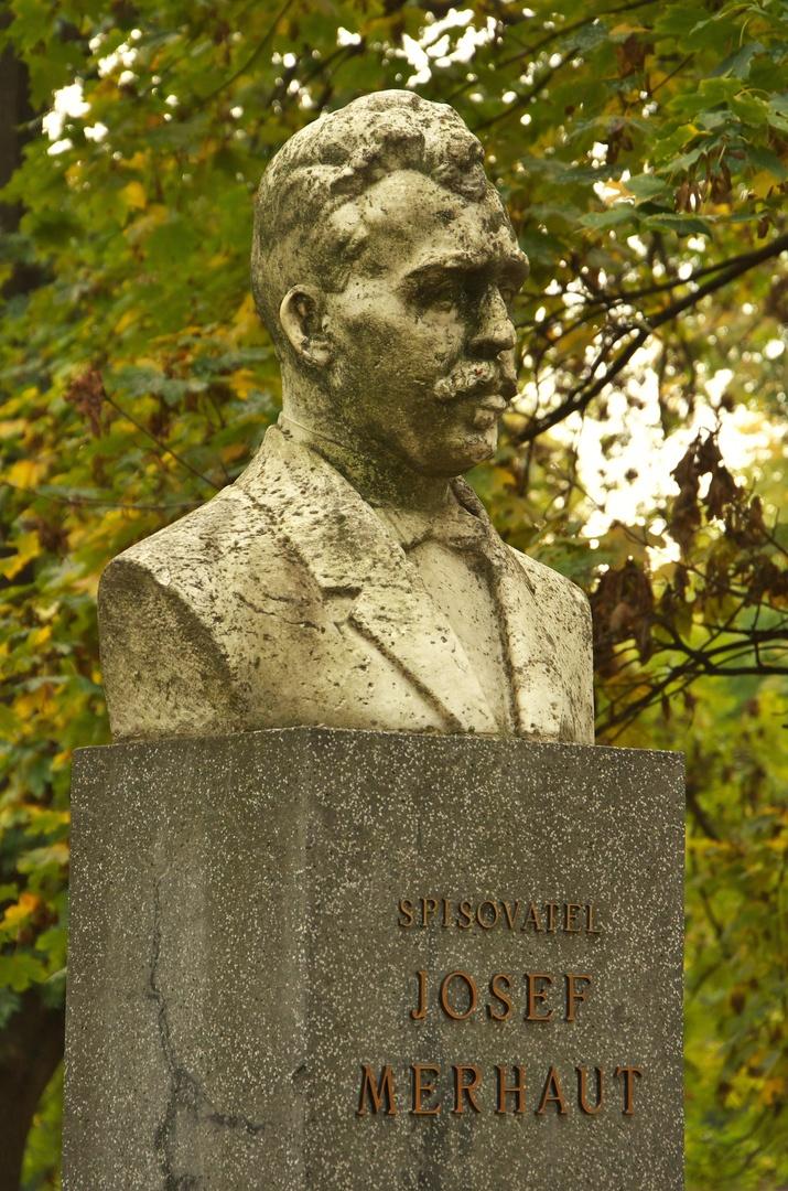 Pomník Josefa Merhauta