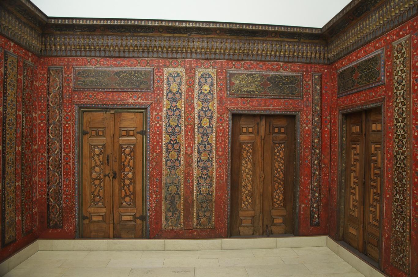 Výzdoba pokoje z Aleppa, Pergamonské muzeum