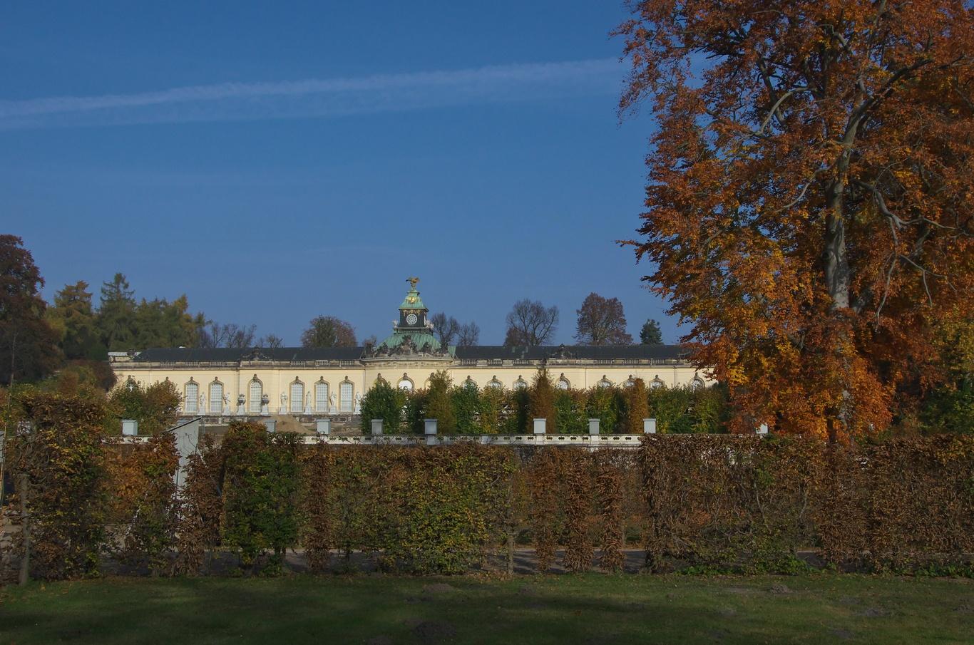 Obrazárna, park Sanssouci