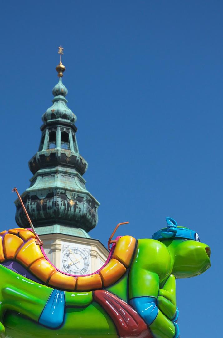 Zámecká věž a Leonardo, Kroměříž