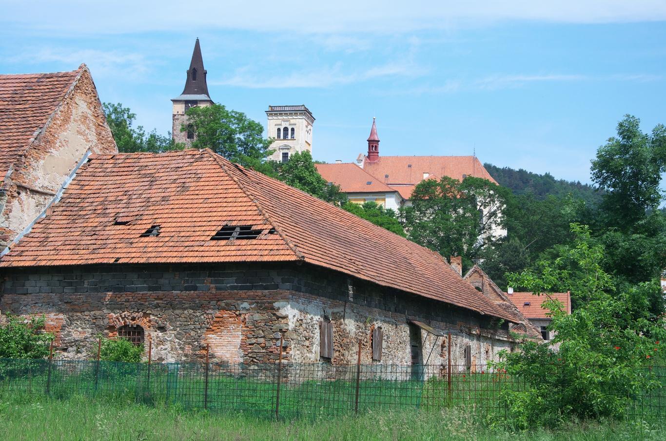 Sázavský klášter, hospodářské budovy