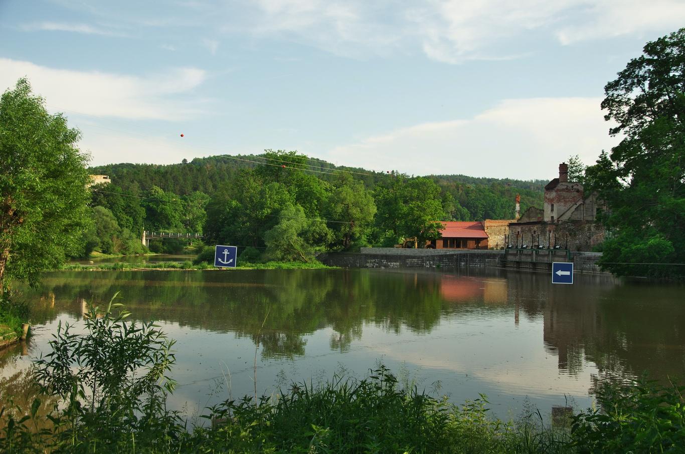 Řeka Sázava