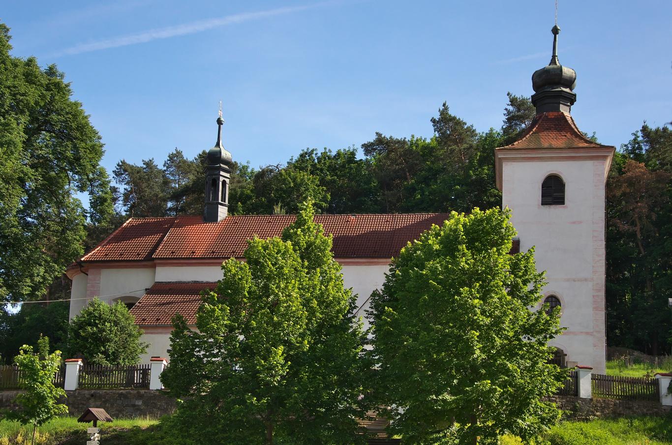 Týnec nad Sázavou, kostel sv. Šimona a Judy