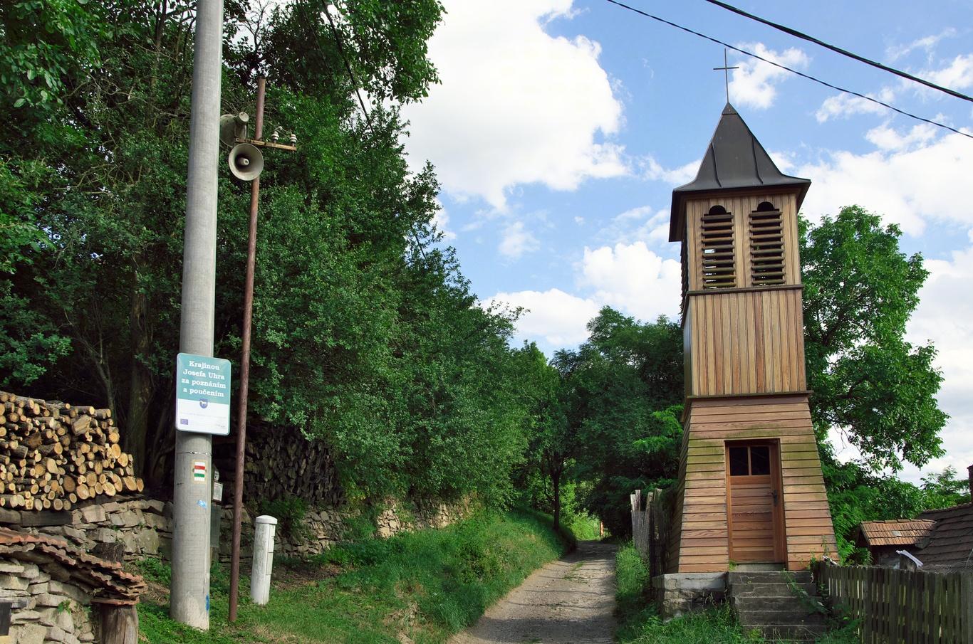 Dřevěná zvonička, Podolí