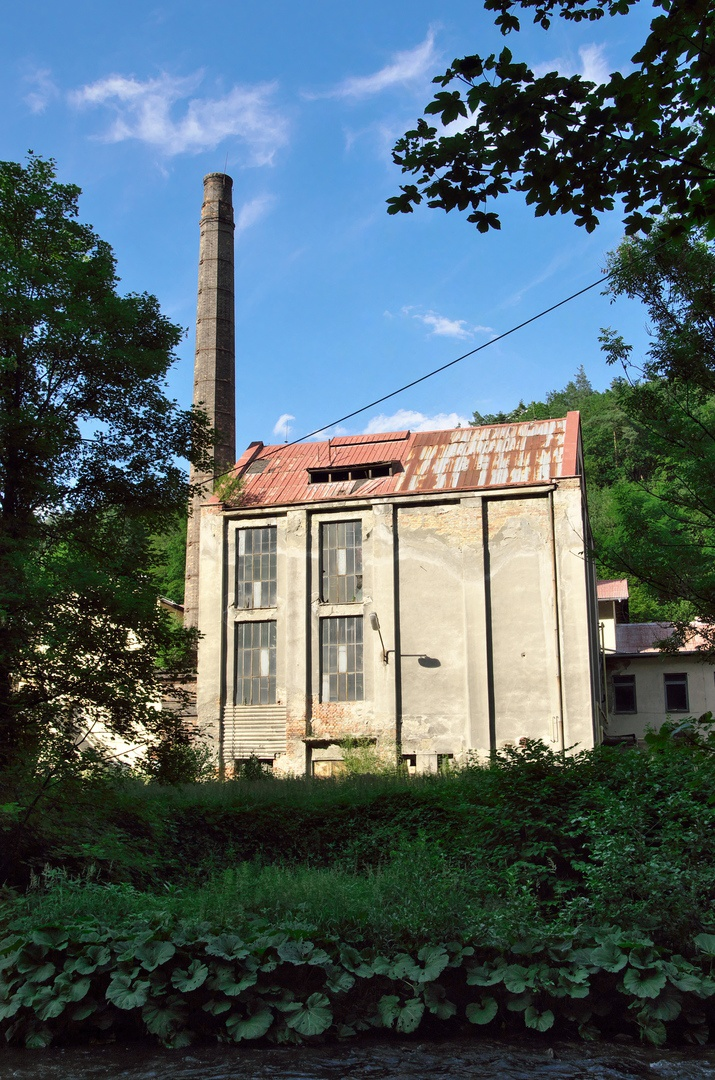 Bývalá papírna, osada Prudká