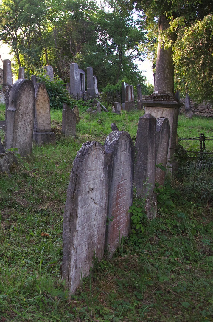 Židovský hřbitov, Lomnice