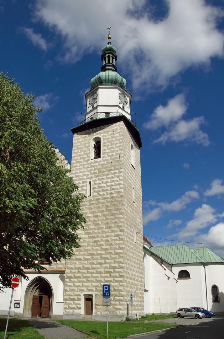 Kostel Nanebevzetí Panny Marie, Bruntál
