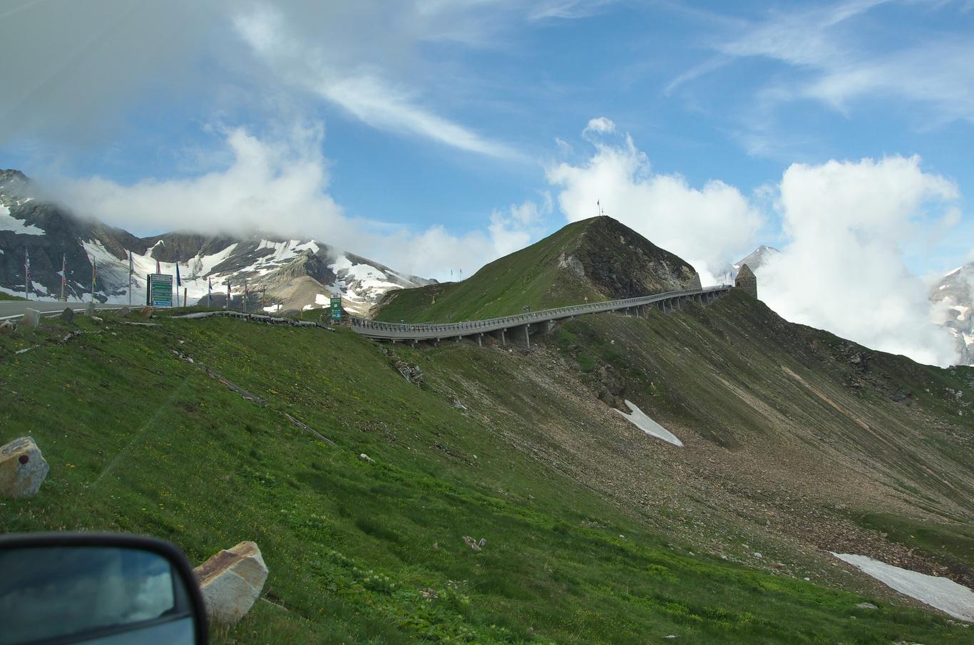 Grossglockner Hochalpenstrasse, Fuscher Törl