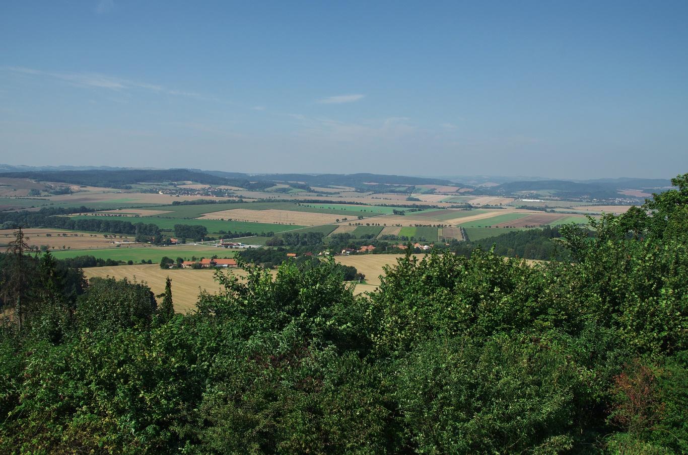 Výhled z Malého Chlumu