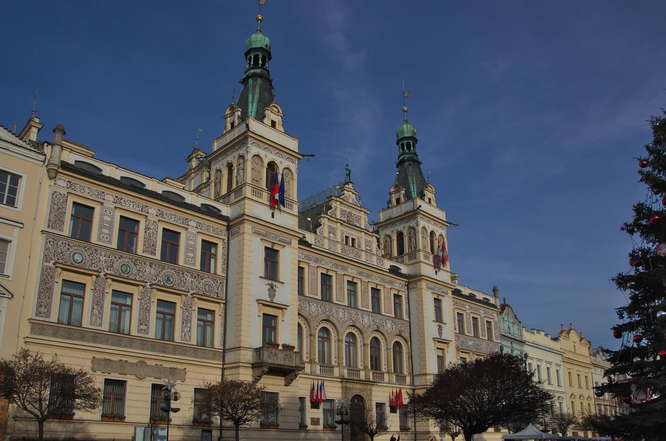Pernštýnské náměstí, radnice