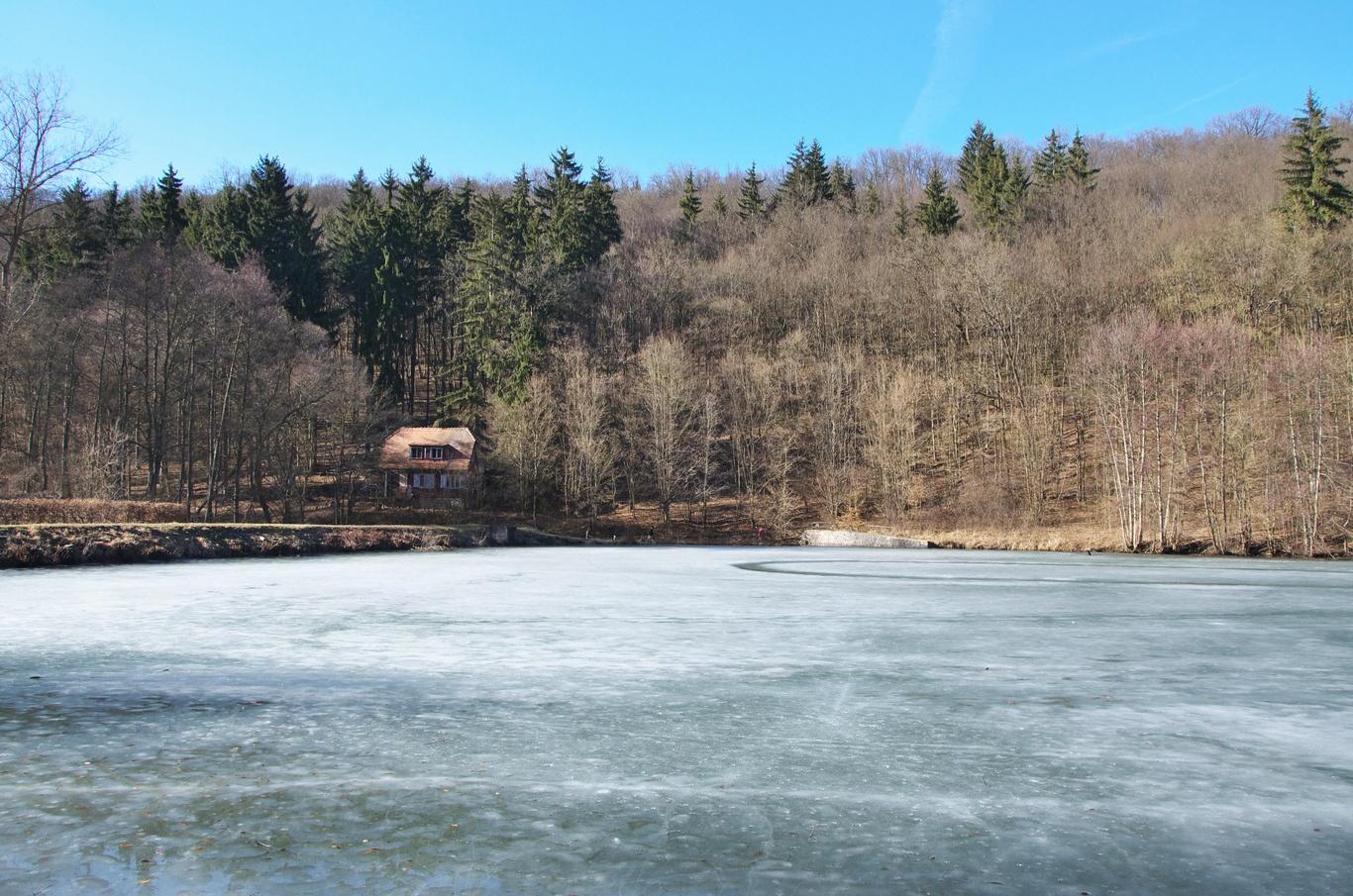 Údolí Říčky, rybník Pod Hádkem