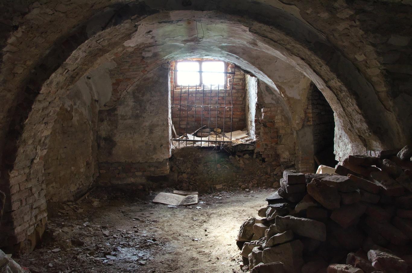 Bývalý augustiniánský klášter, sklepy
