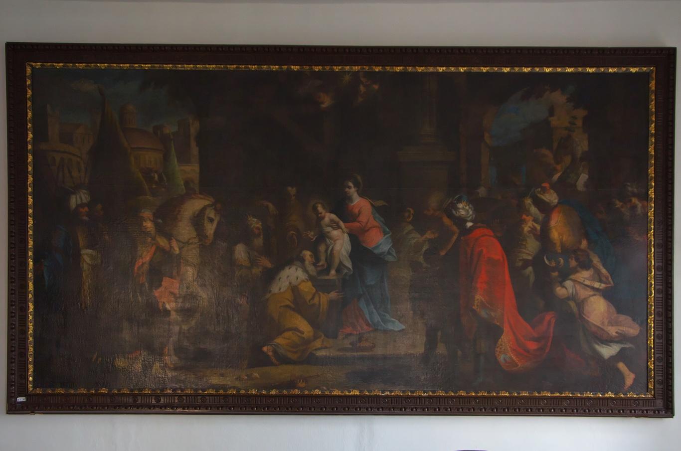 Bývalý augustiniánský klášter, obraz Jana Kryštofa Handkeho