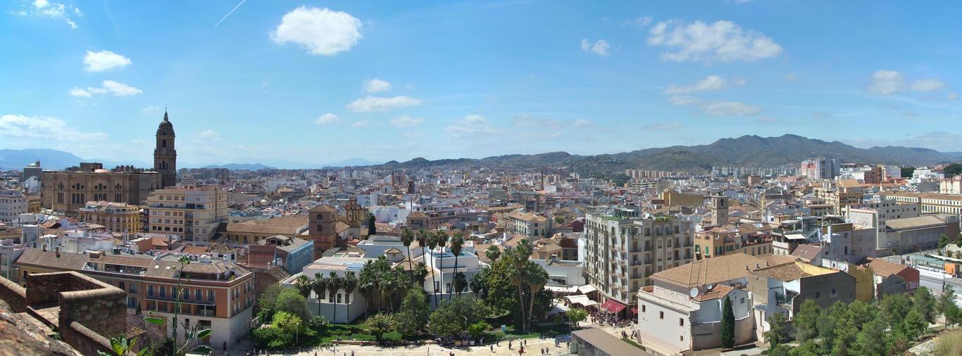 Výhled z Alcazaby