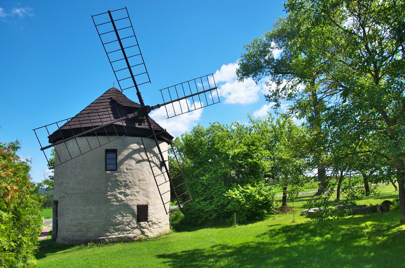 Větrný mlýn Štípa, Zlín