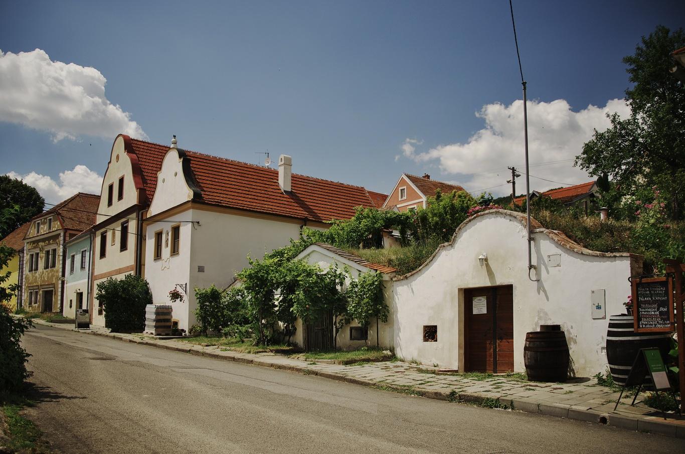 Pavlov, Česká ulice