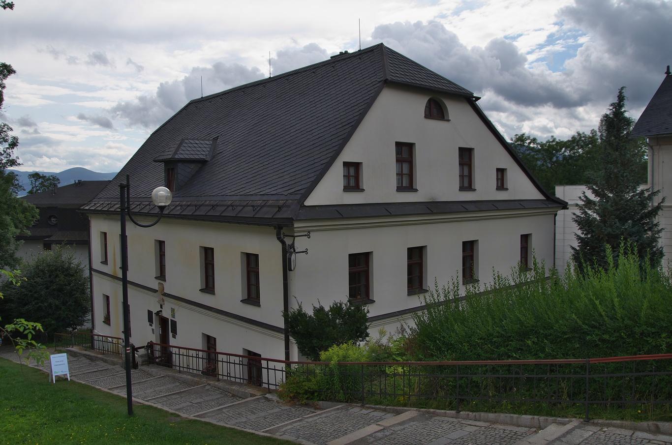 Lázně Jeseník, rodný dům Vincence Priessnitze