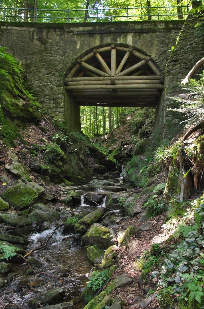 Most přes Bučínský potok