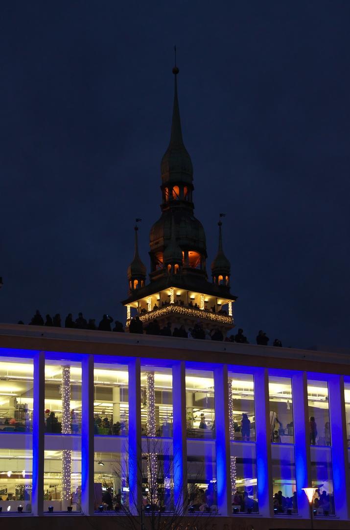 Věž Staré radnice a Tržnice Brno na Zelném trhu