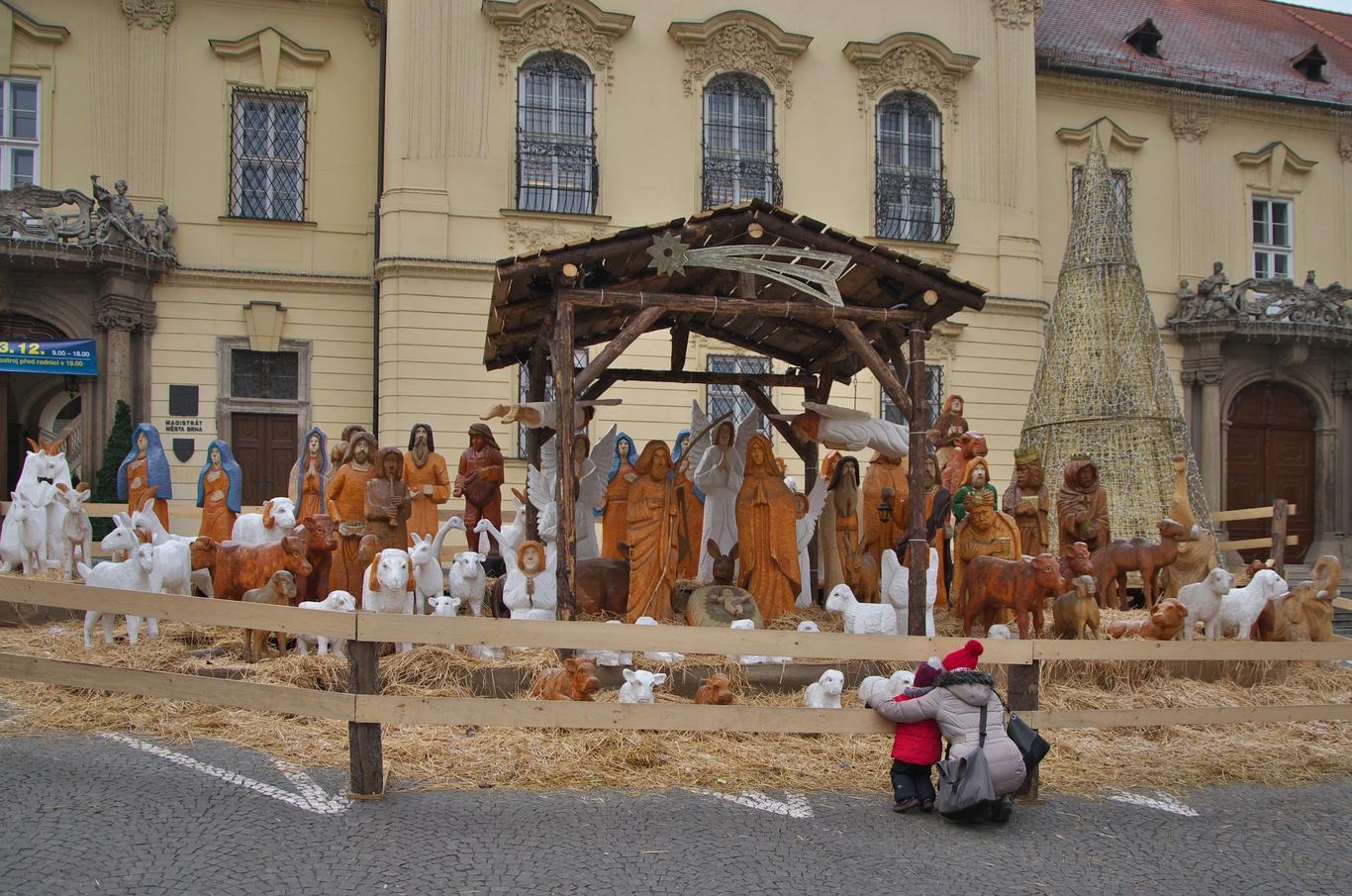 Betlém na Dominikánském náměstí
