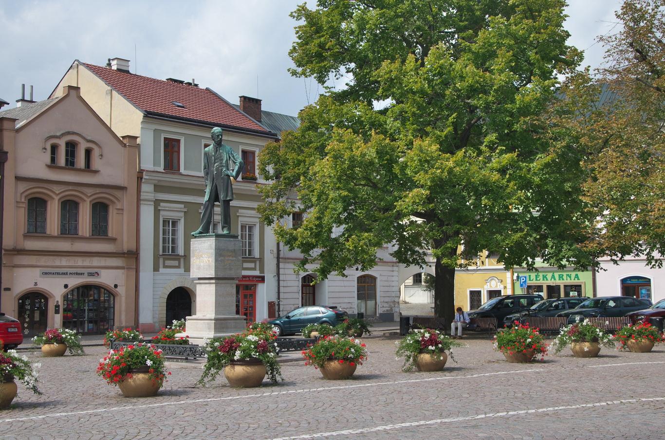 Smetana na Smetanově náměstí