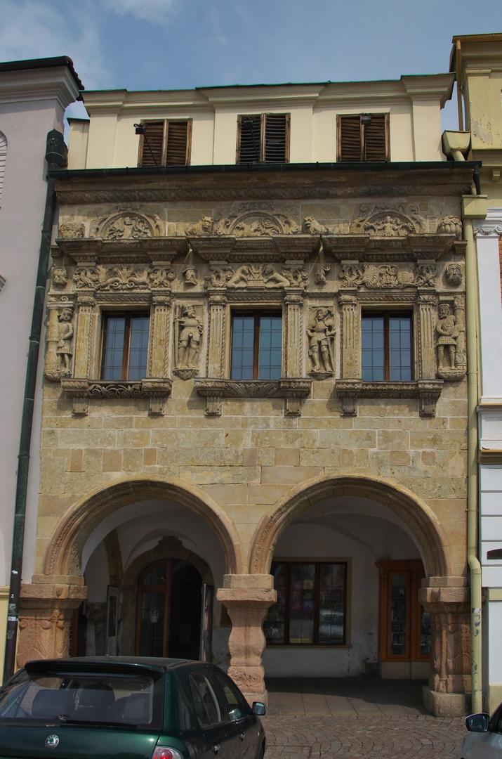 Dům U Rytířů na Smetanově náměstí