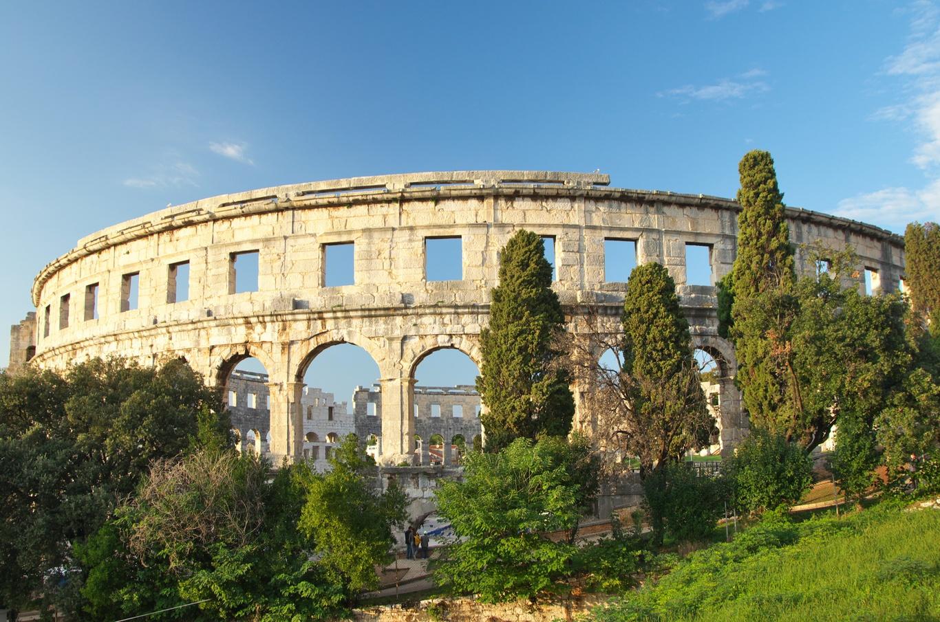 Amfiteátr v Pule