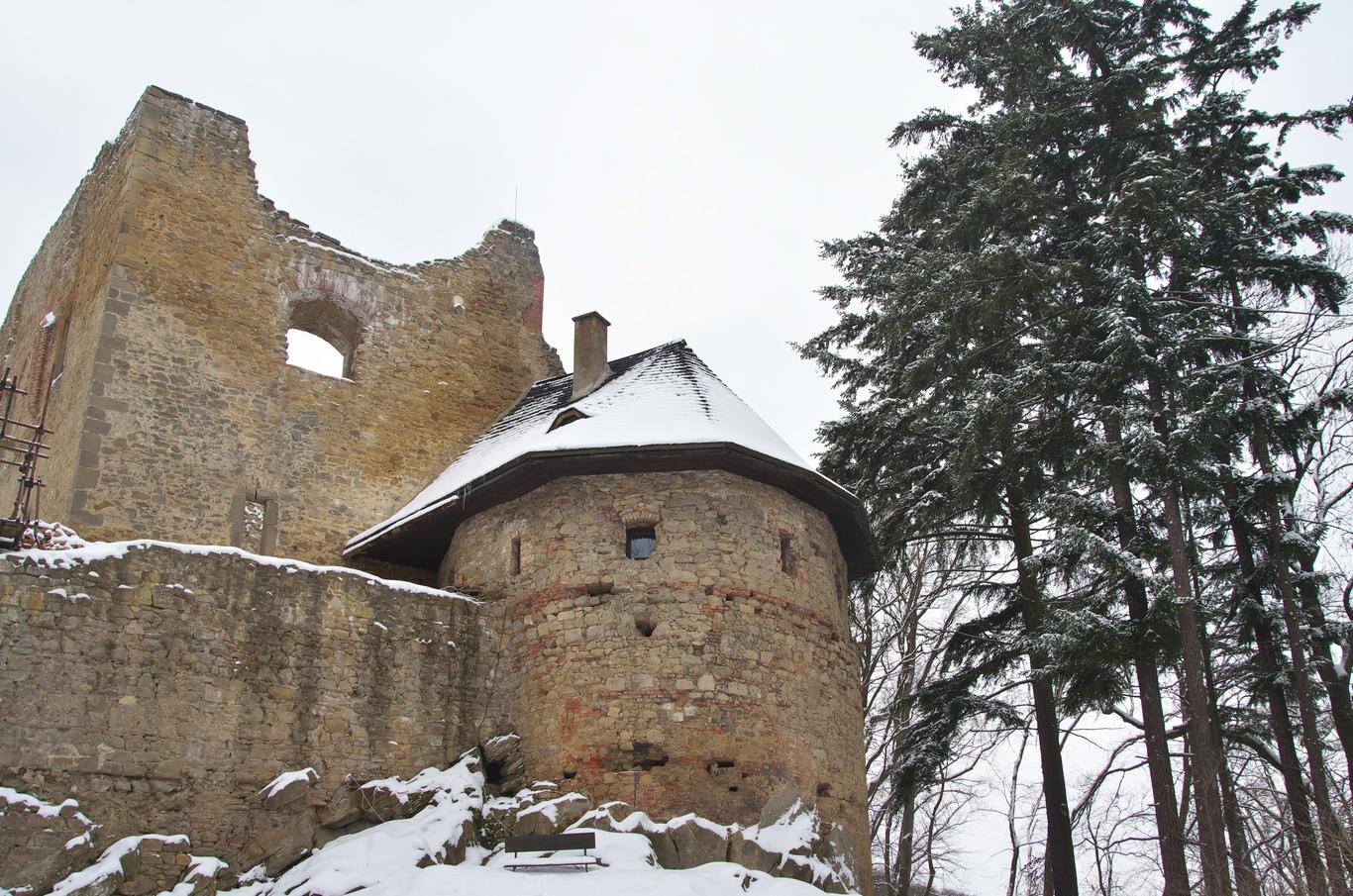 Zřícenina hradu Cimburk