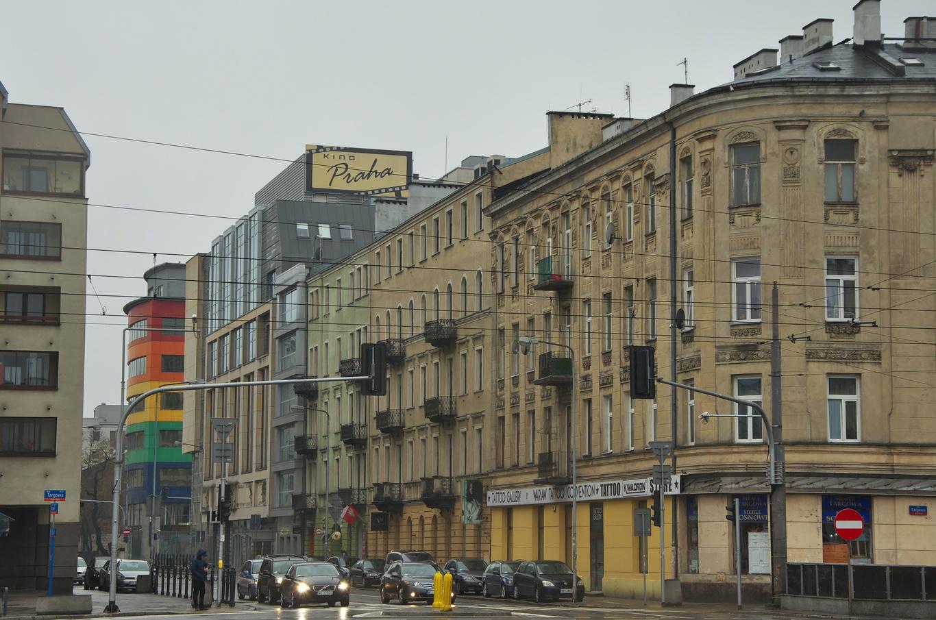 Ulice Stefana Okrzei (Kino Praha)