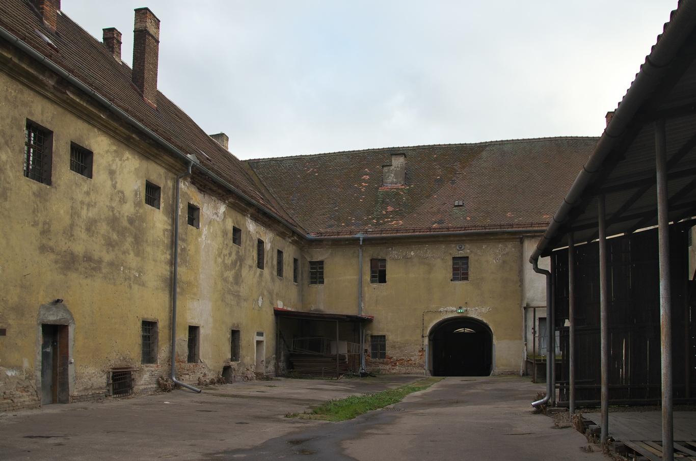 Bývalá brněnská káznice, dvůr č. 2 - mužský