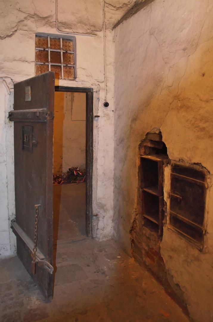 Bývalá brněnská káznice, tzv. cely smrti, kde odsouzení čekali na popravu.