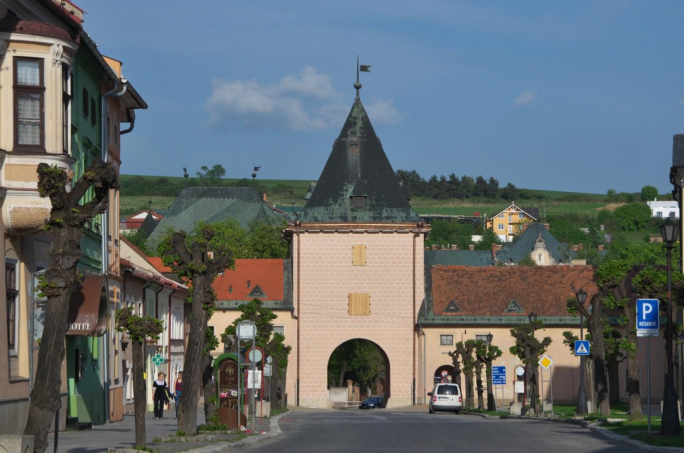 Levoča, Košická brána
