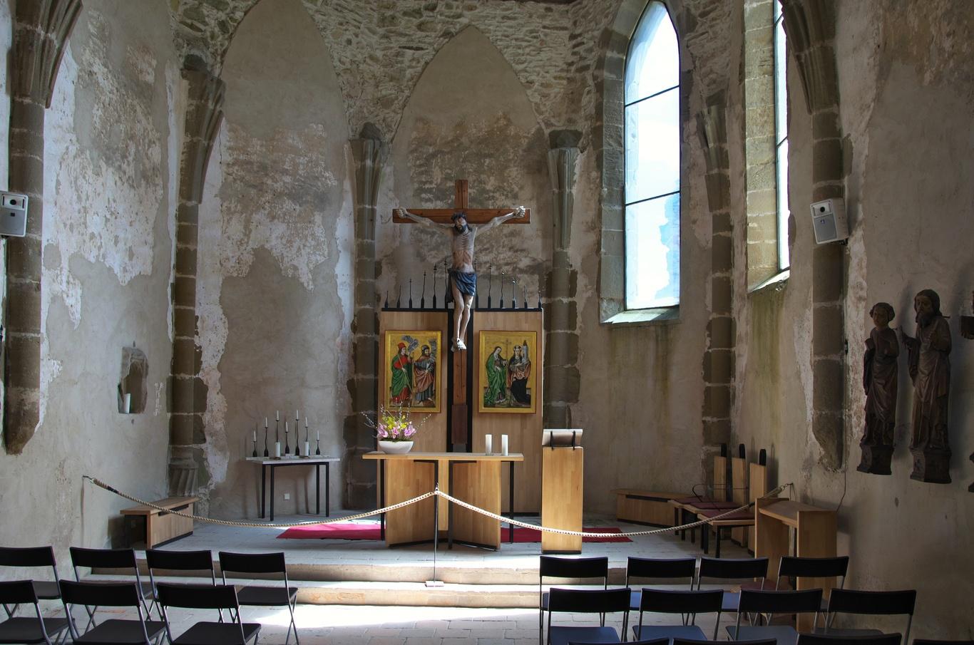 Spišský hrad, kaple
