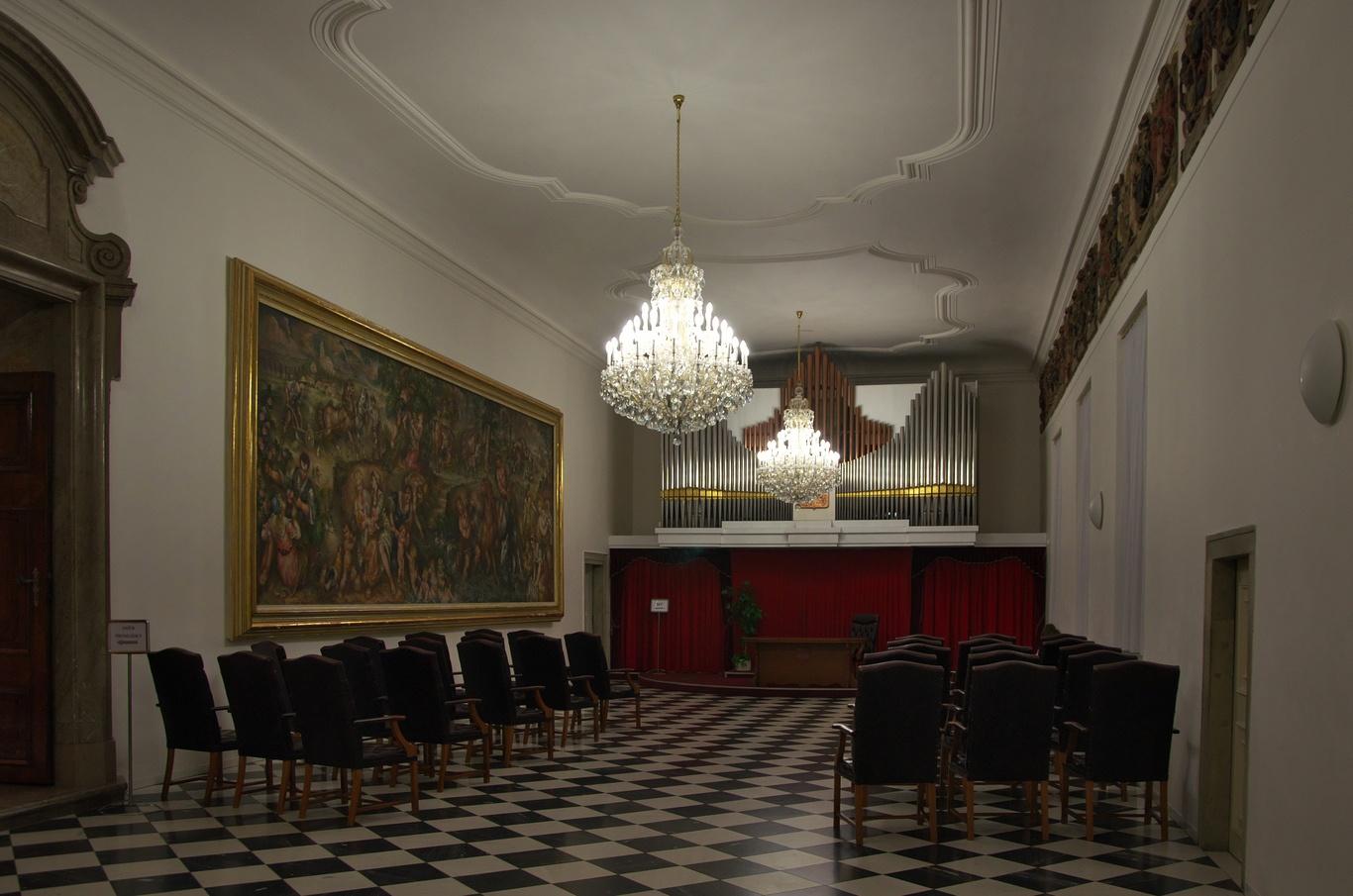 Nová radnice, Rytířský sál