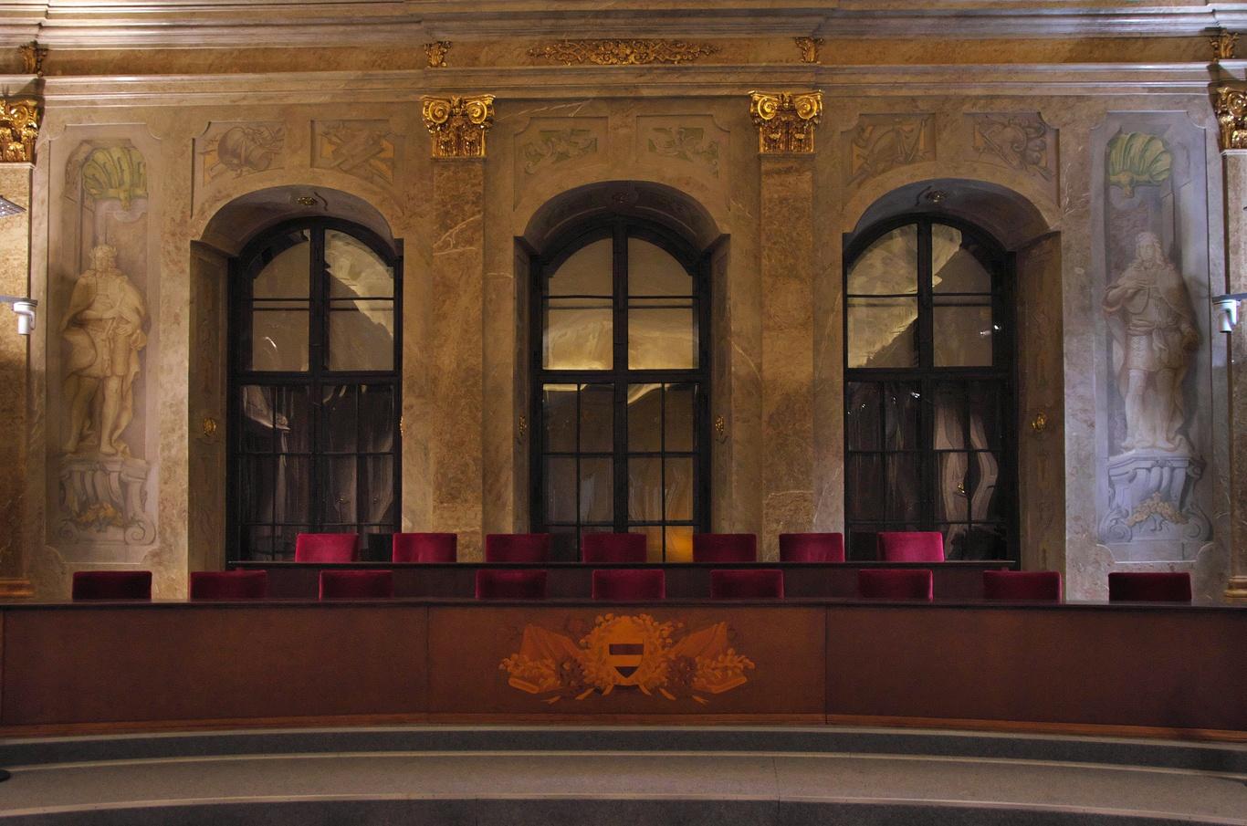 Nová radnice, Sněmovní sál
