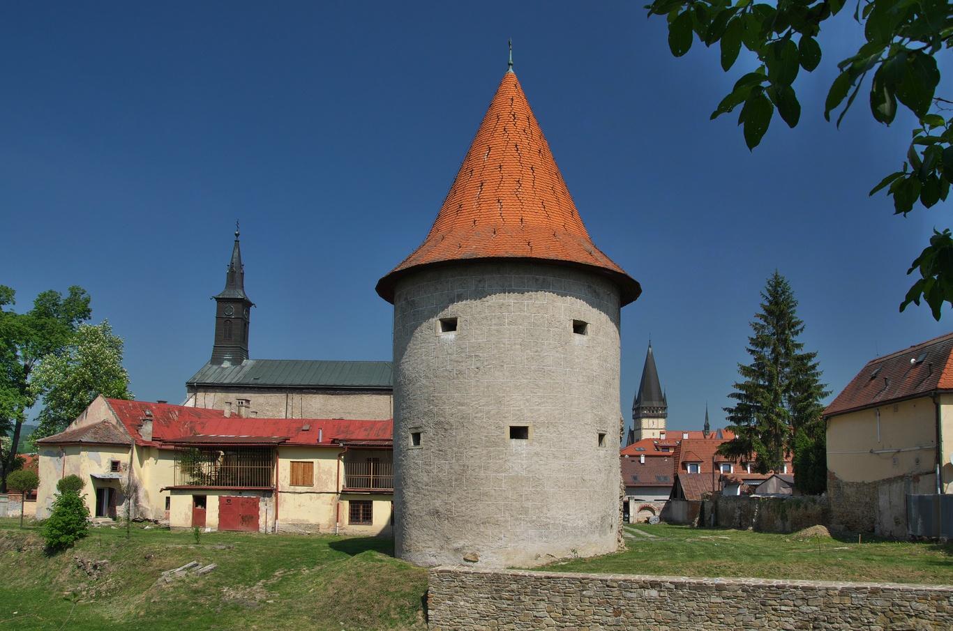 Jedna z bardejovských bašt