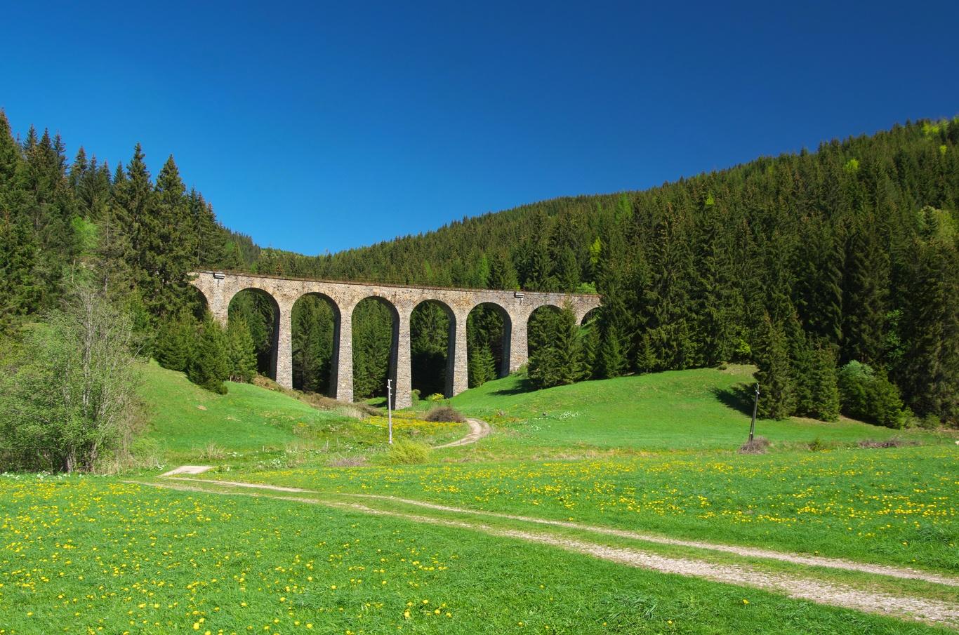 Viadukt v Telgártu