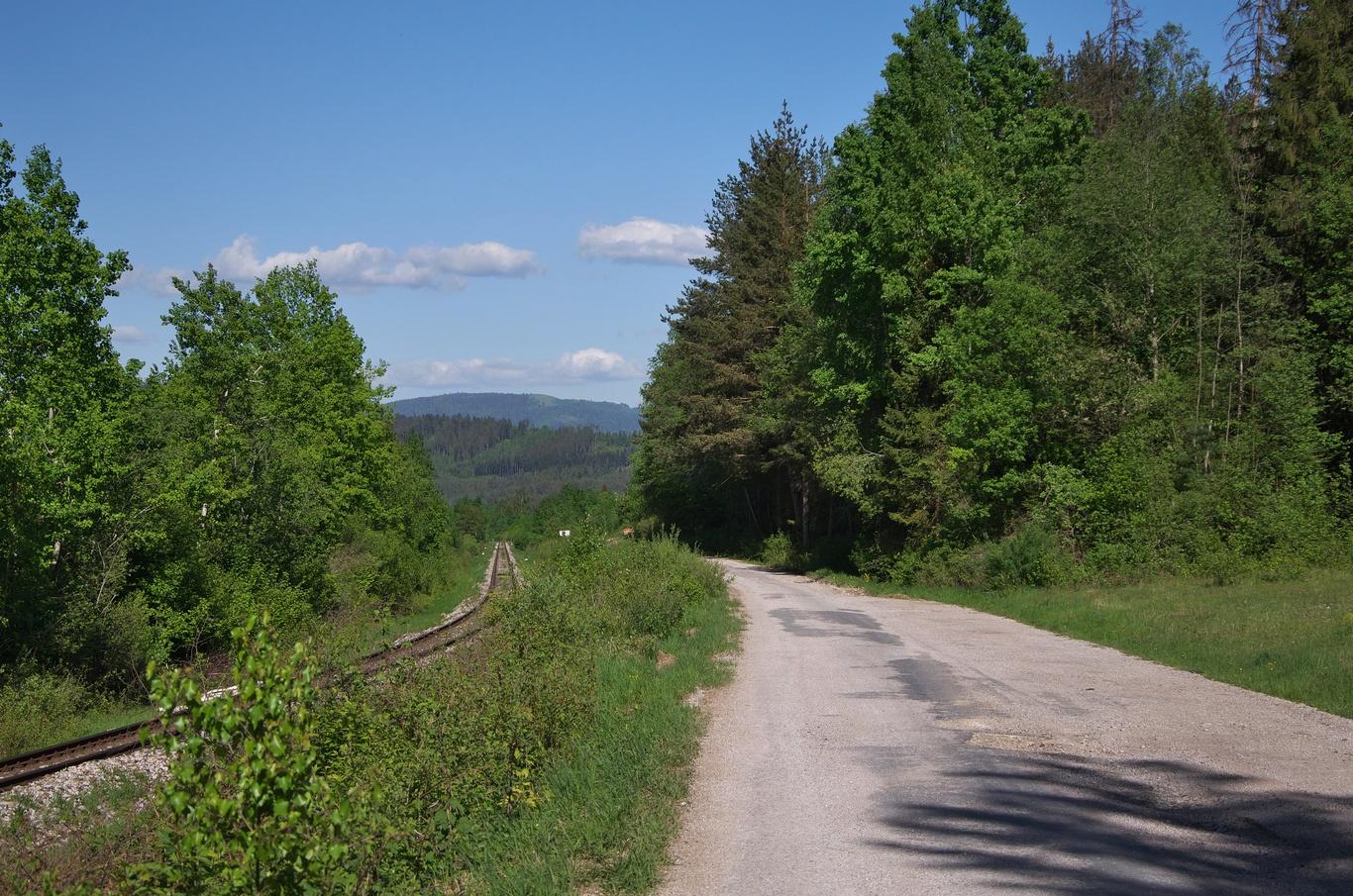 Cyklotrasa do Nálepkova