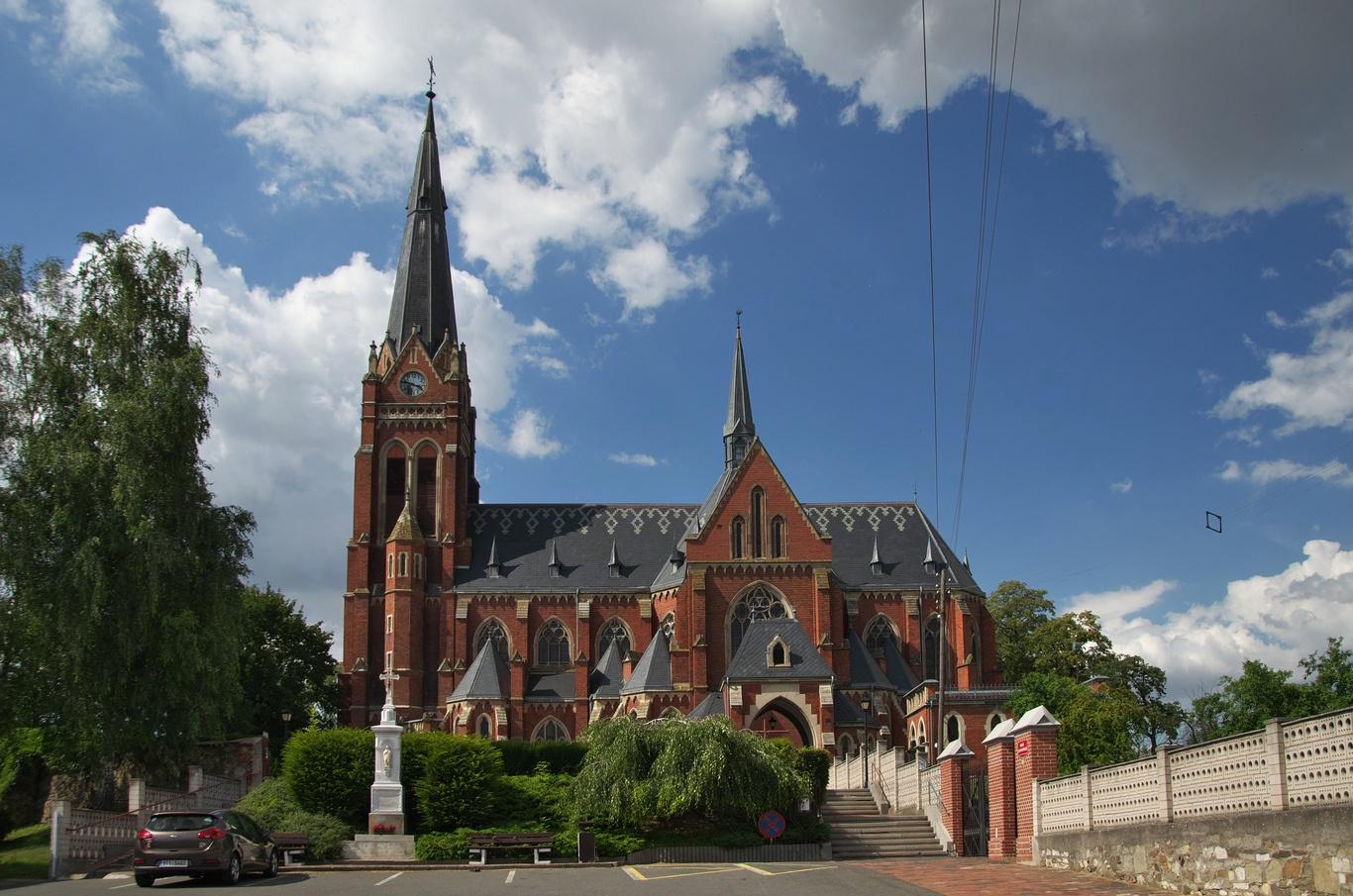Sudice, kostel sv. Jana Křtitele