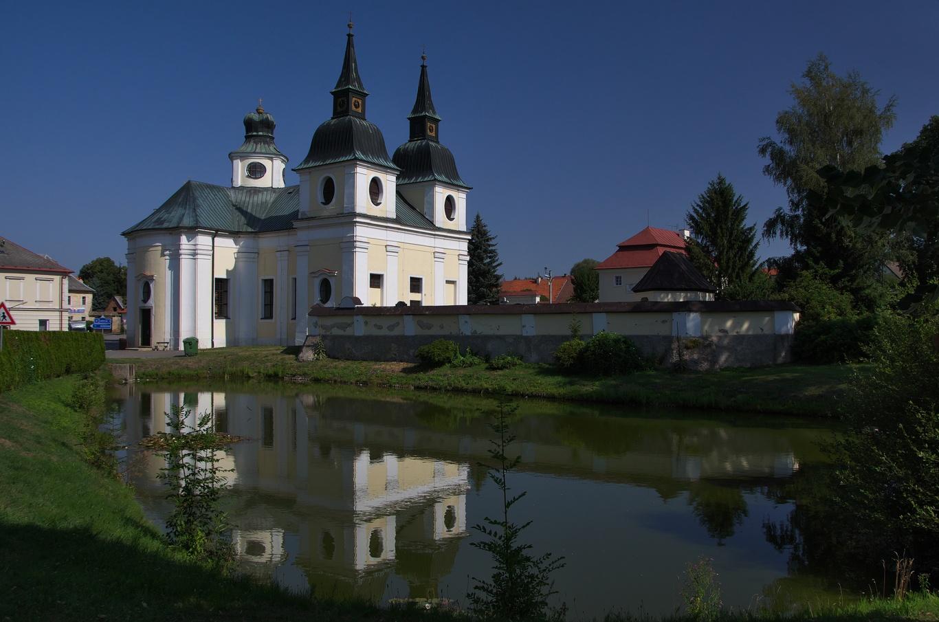 Zvole, kostel sv. Václava