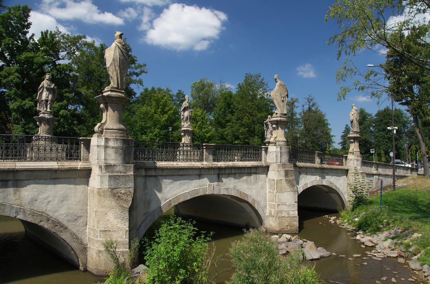 Barokní most ve Žďáru nad Sázavou